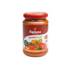 Fiamma Tomatoes & Peppers Sauce 350gr image